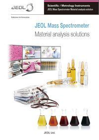 télécharger JEOL Mass Spectrometer. Material Analysis solutions