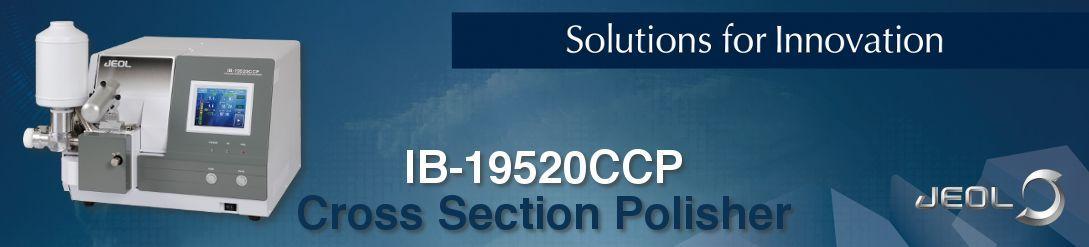 Cross section polisher IB-19520CCP