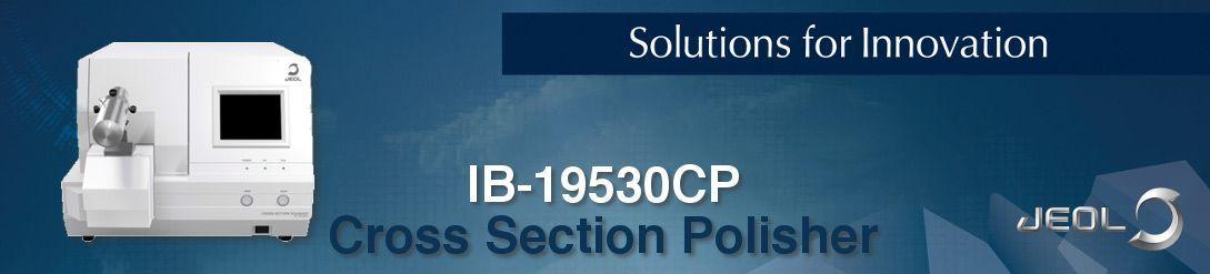 Cross section polisher IB-19530CP